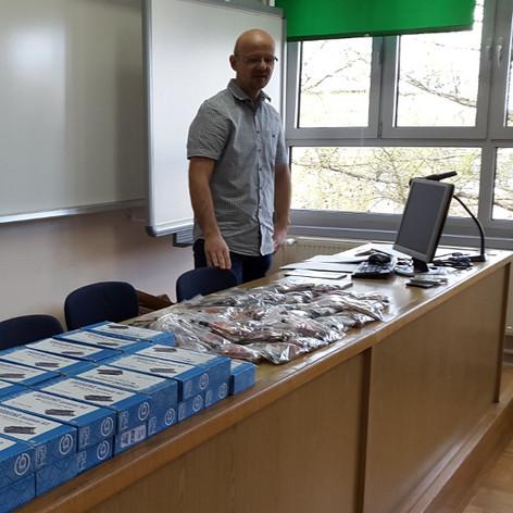 Tvrtka Mobilisis donirala Croduino pakete Elektrostrojarskoj školi Varaždin