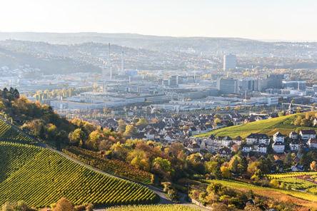 City of Stuttgart – Germany REWE Mall 3DTC traffic counter