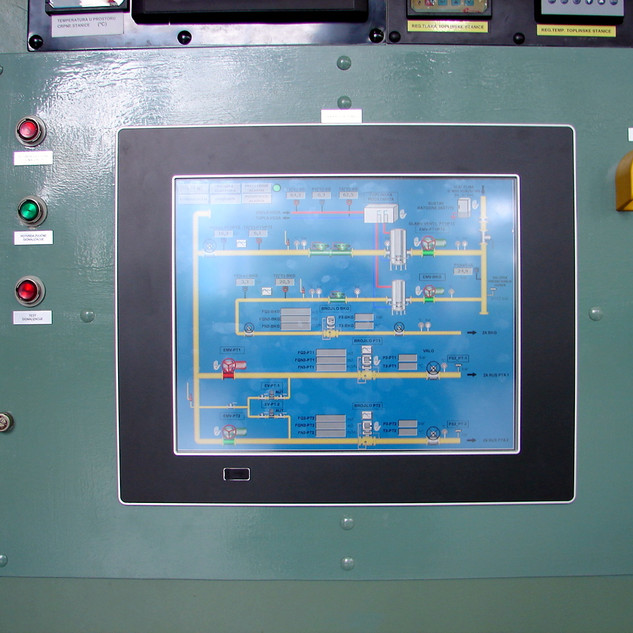 Overhaul of the energy and control equipment in the GRMS of the Jertovec CCPP