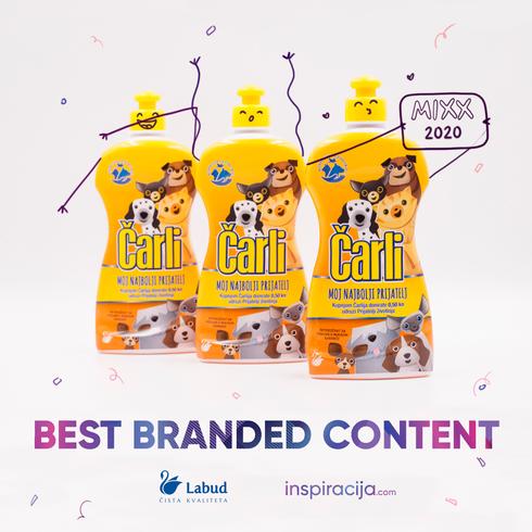 "Osvojili smo MIXX nagradu u kategoriji ""Best Branded Content"""