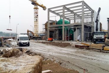 "Construction of the biomass-fired boiler room in the factory ""Danica - meat industry"" in Koprivnica."