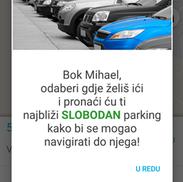 Parking mobilna aplikacija