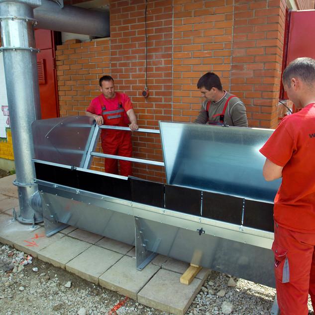 "Bau eines Biomassekessels in der Grundschule ""Stjepan Basariček"" in Ivanić-Grad"