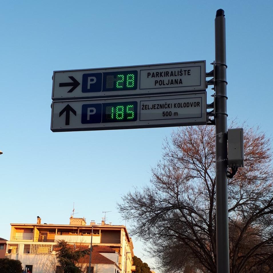 LED informative signage