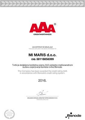 AAA 2016. Jahr