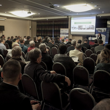 Presentation at the professional assembly on the possibilities of energy efficiency in tourism