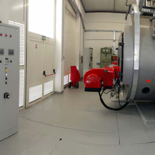 Production and installation of cabinet and visualization equipment for the steam plant of the laundry room of TURISTHOTEL d.d. in Zadar
