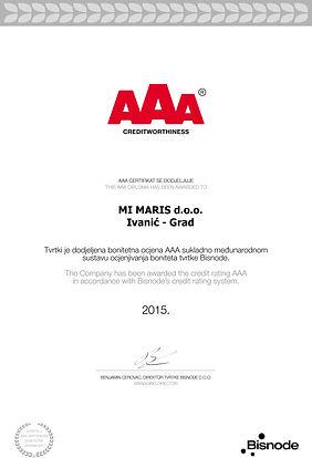 AAA 2015. Jahr
