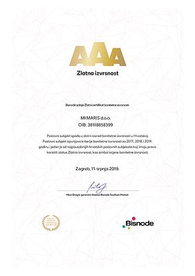 AAA 2017., 2018. i 2019. Jahr