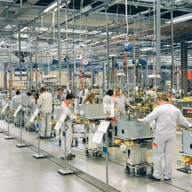 Visit to the VIESSMANN Group factory in Germany