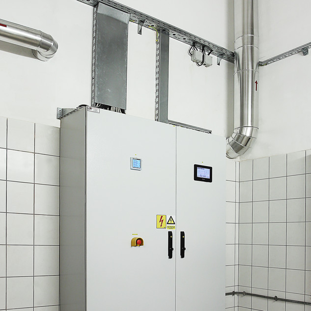 Reconstruction of the boiler room in the Birth and Women's Clinic of the Zagreb University Hospital Centre (KBC)