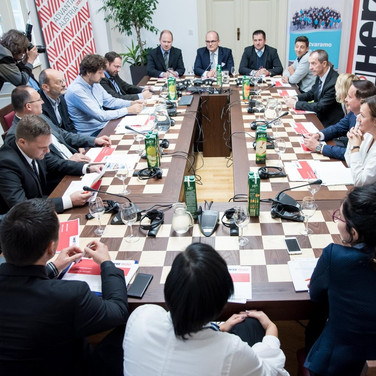 """We attended the round table about """"Biomass"""" as part of the CROENERGY 2017 Conference"""