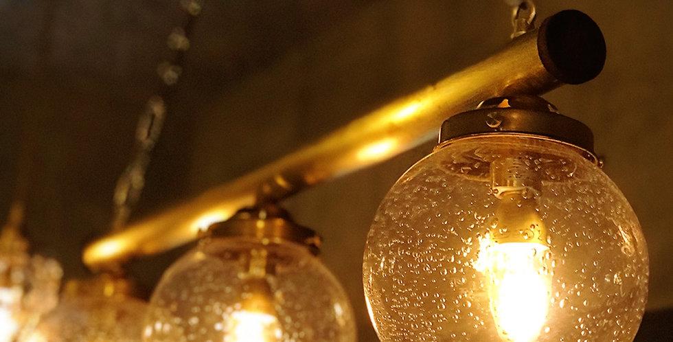 アンティーク3灯シャンデリア