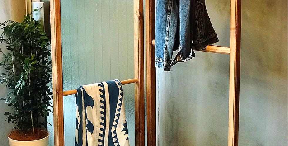 天然木のオリジナルパーテーション【シングルフック】