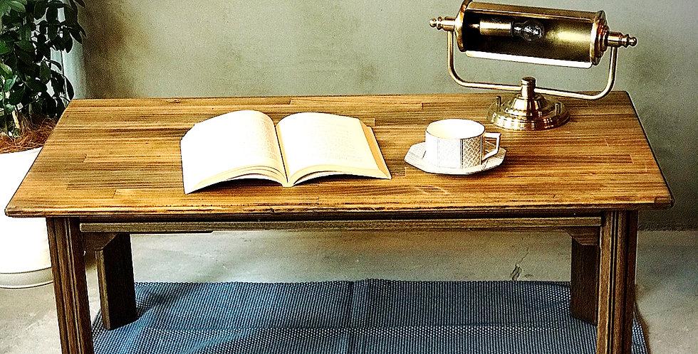 オリジナル 天然木ローテーブル・両サイドドロワー