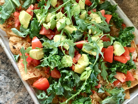 Sheet Pan Nachos                           (Easy & Healthy Meal)