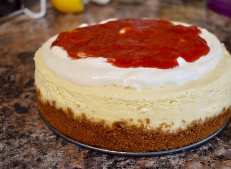 Instant Pot Cheesecake (refined-sugar free)