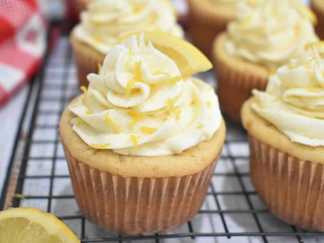 Vanilla Orange Cupcakes