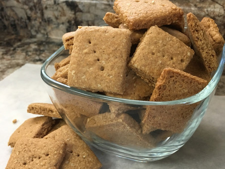 Honey Graham Squares (refined sugar-free)