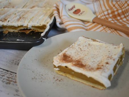 Pumpkin Slab Pie (sugar-free)