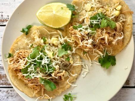 Homemade Corn Tortilla's