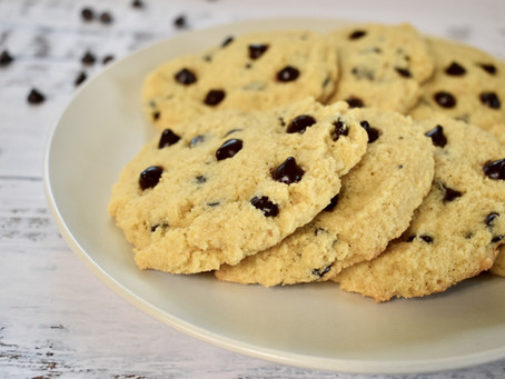 Chocolate Chip Cookies (No refined flour or sugar)