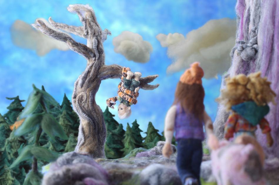 Puddin' & Sir Ennio in Tree