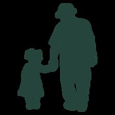 Grampy and Granddaughter Walking.png