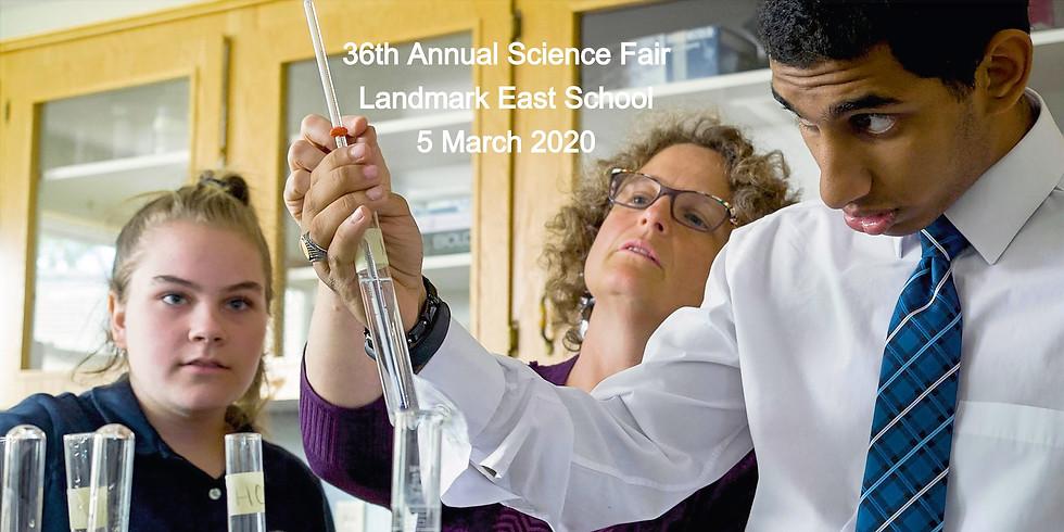 36th Annual Science Fair - Landmark East School