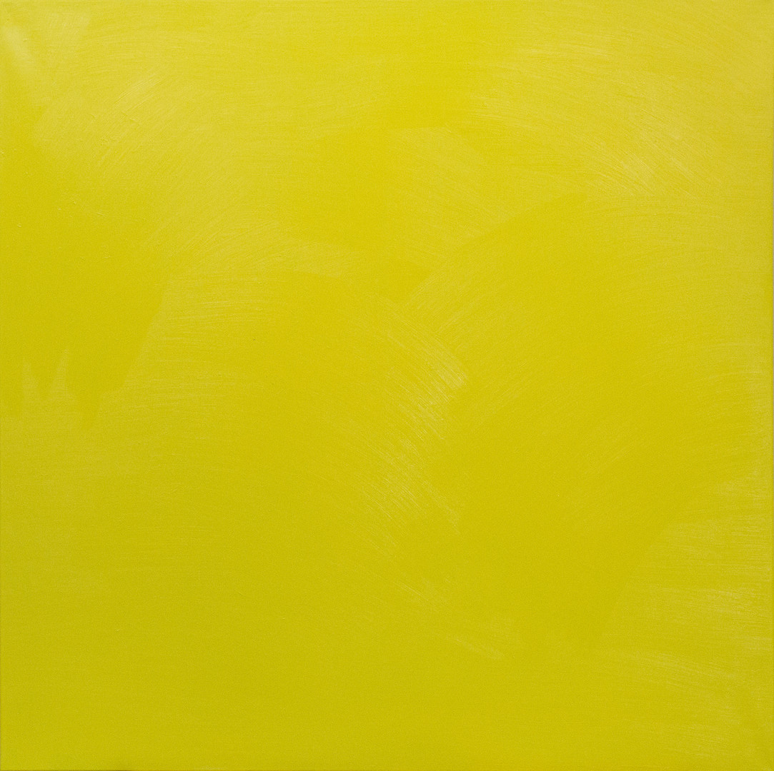 Granadilla 100x100 cm oil on canvas