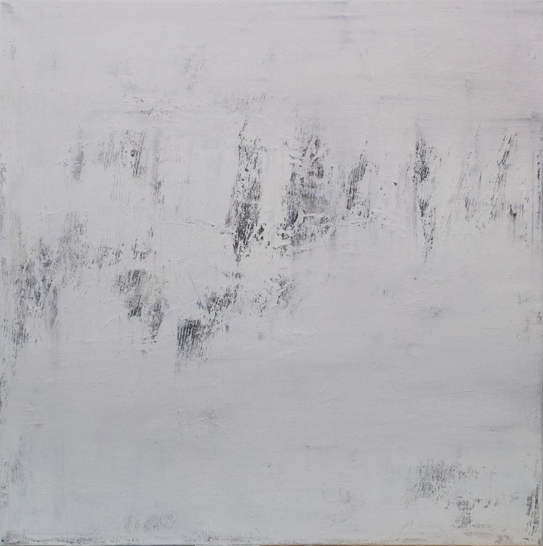 Paloma 100x100 cm oil on canvas