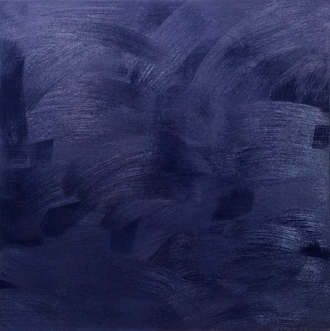 Atlàntico 100x100 cm oil on canvas