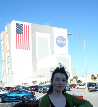 The Artist on Residency at NASA Kennedy Space Centre 2008