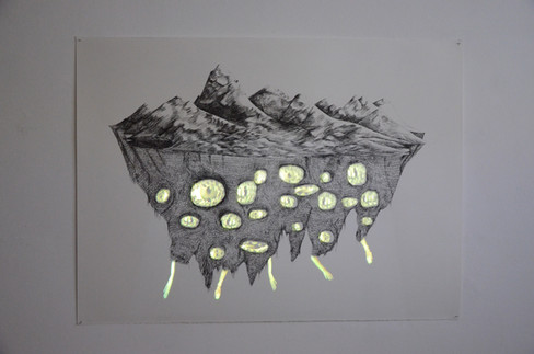 Ilse de lune, 2017, Detail, Aideen Barry