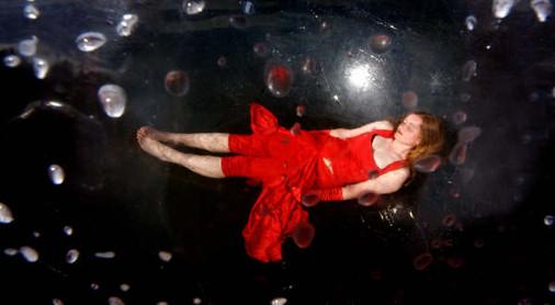 Caoimhe as Ophelia