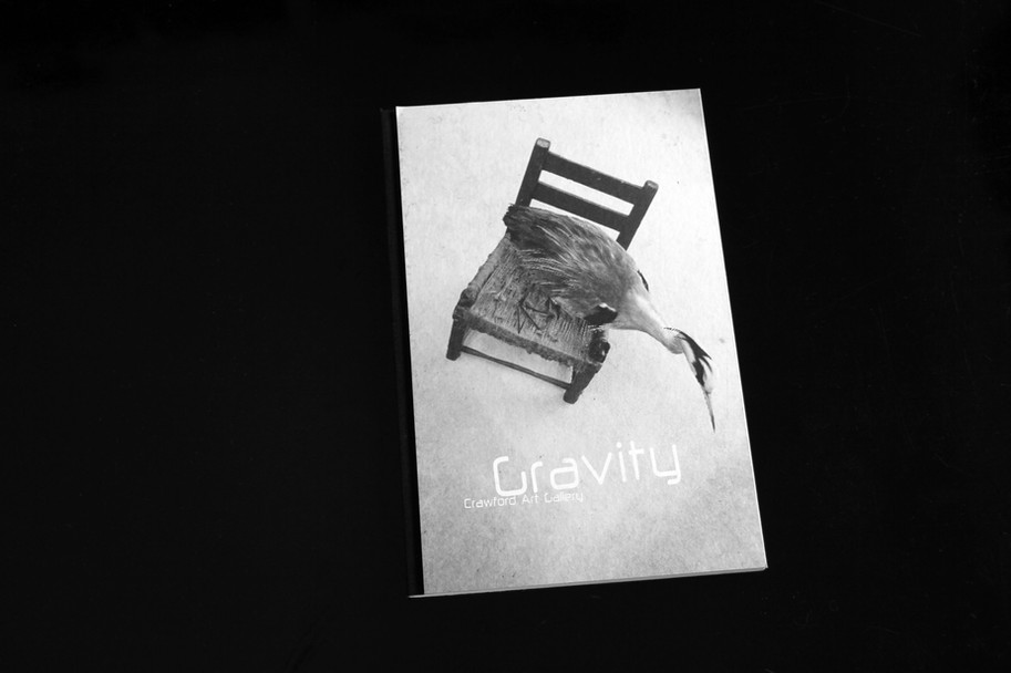 Gravity a publication by Crawford Municpal Gallery