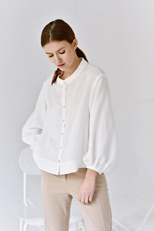 Lucie Komárková – Košile s řasenými rukávy