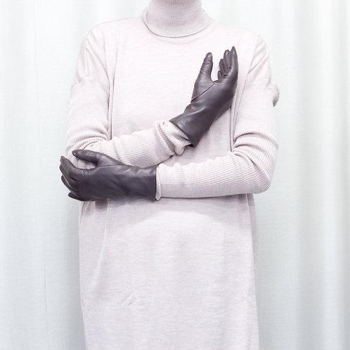 Moje rukavice - hladké s kašmírovou podšívkou
