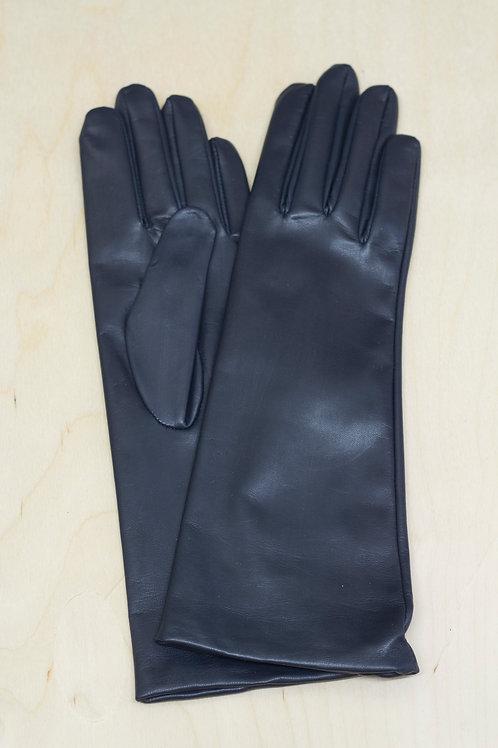 Moje rukavice - dlouhé s hedvábnou podšívkou