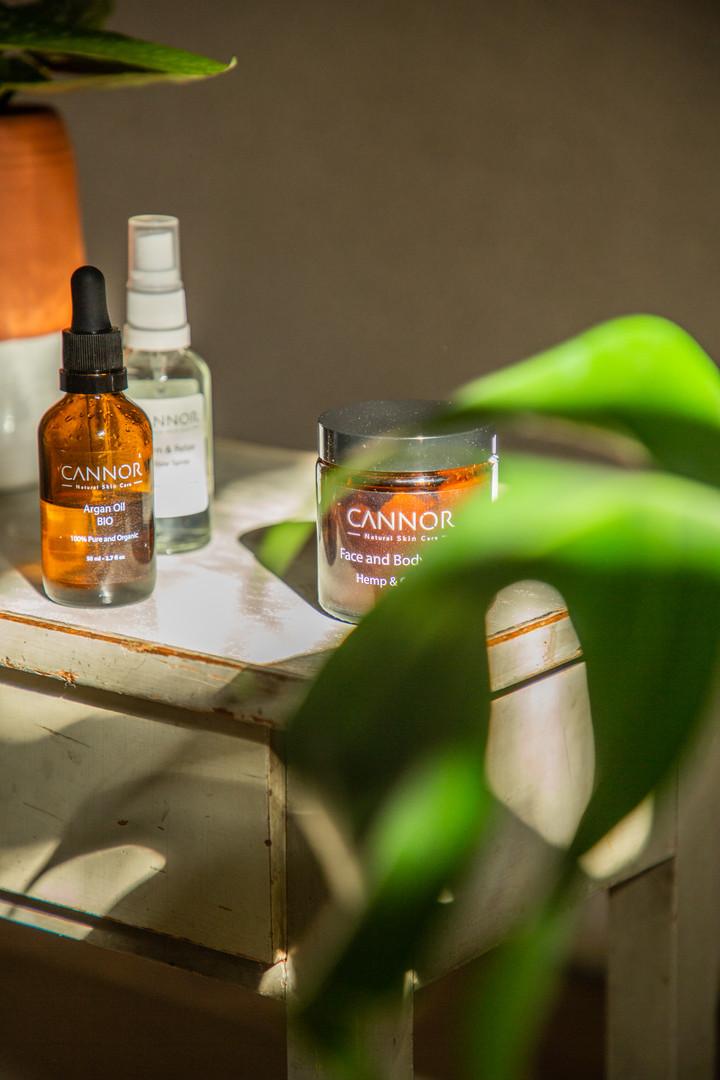 CANNOR    Prémiová BIO kosmetika z léčivého konopí
