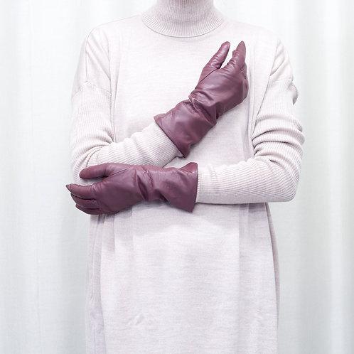 Moje rukavice - dlouhé s kašmírovou podšívkou