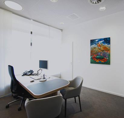 Ausstellung Technophilosophische Kunst in der Deutschen Bank