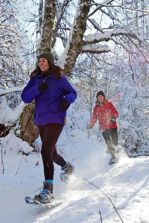 Snowshoeing 9am-12pm Tuesday