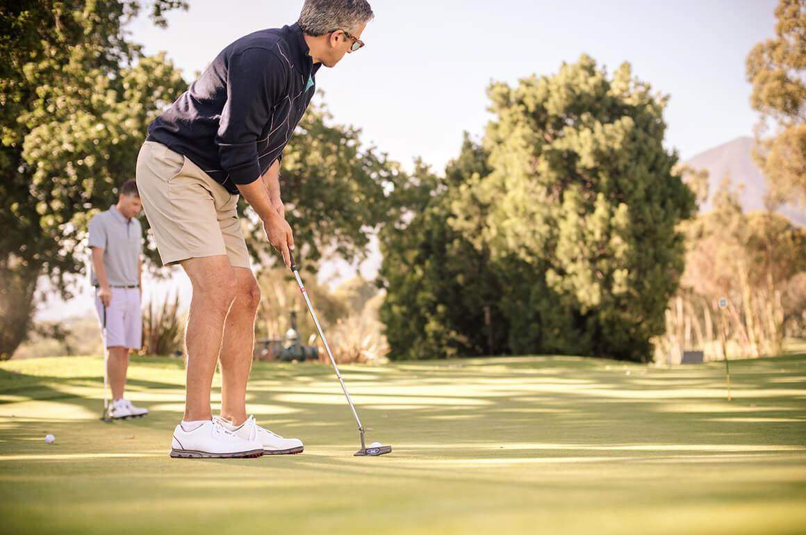 Mon -Tue: Golf