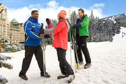 Private Guided Skiing 9am-3pm Tuesday