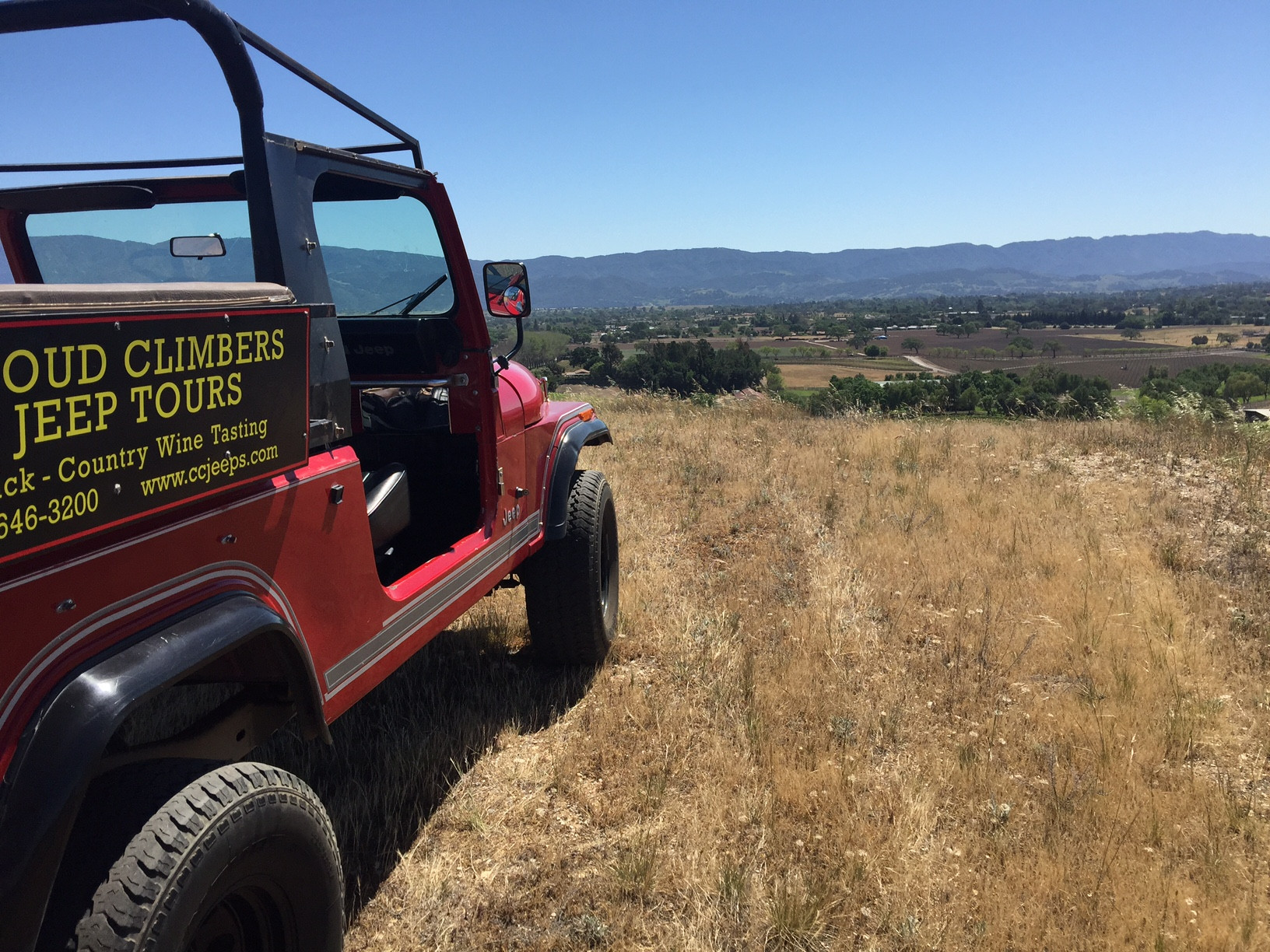 Mon-Tue: All Around Ojai Jeep Tour