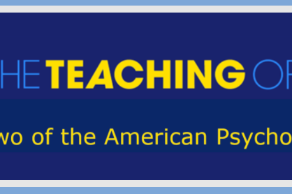 The Society for the Teaching of Psychology (STP): Internationalization during COVID