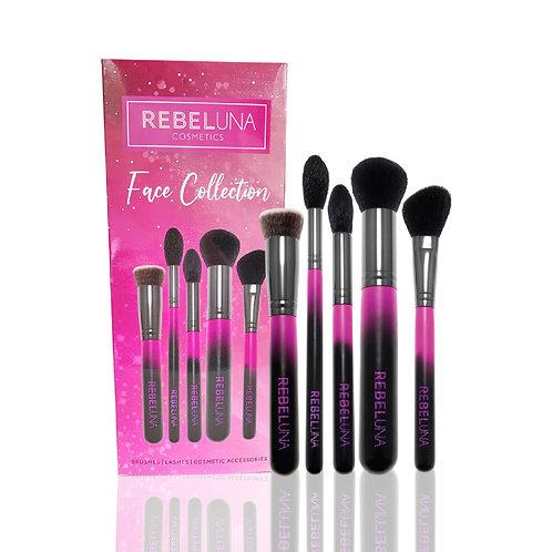 Rebeluna Cosmetics 5 Piece Face Set 3pcs