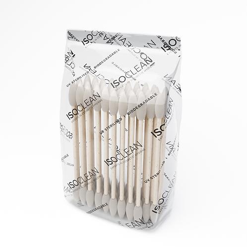 ISOCLEAN Biodegradable Cotton Buds 100pieces 3pcs