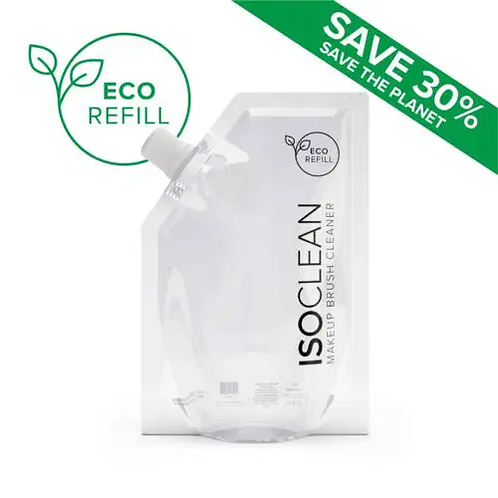 ISOCLEAN Makeup Brush Cleaner Eco-Refill Packs 3pcs